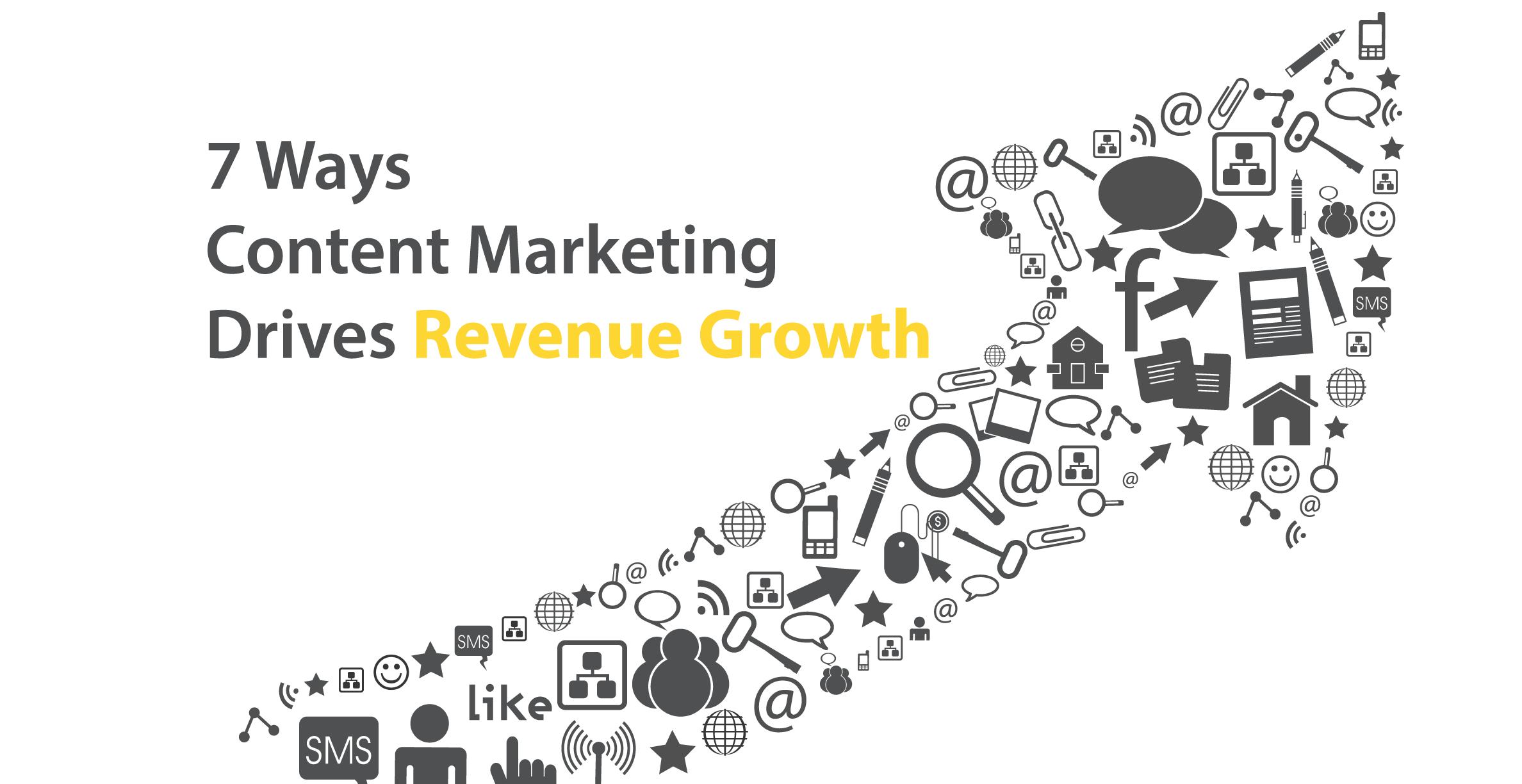 7 Ways Content Marketing Drives Revenue Growth