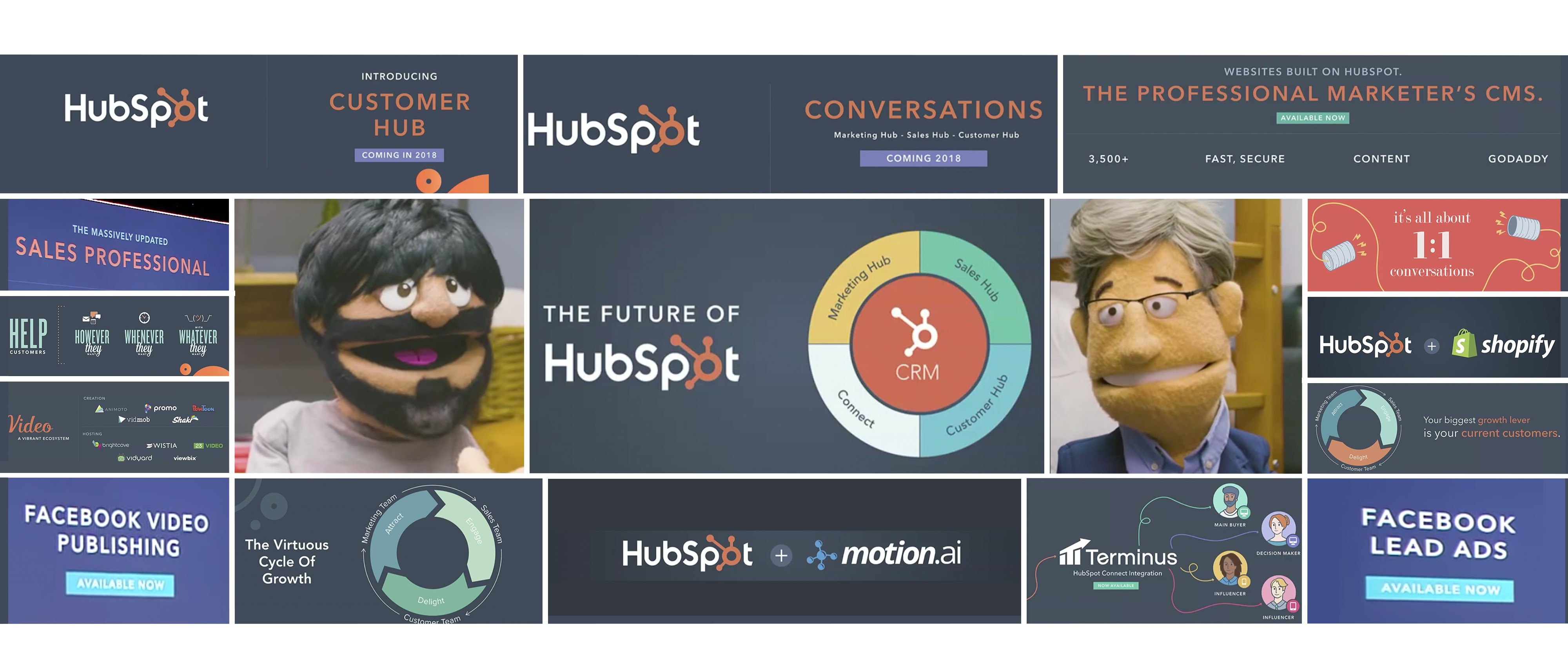 HubSpot Product Updates from the #INBOUND17 Conference - Header Image